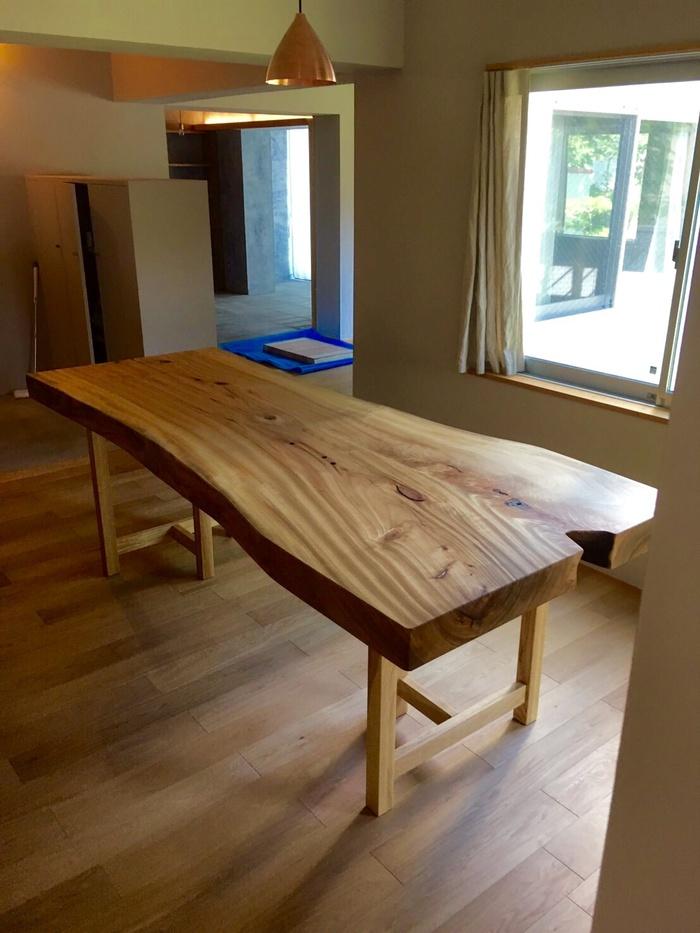 クスのダイニングテーブル2
