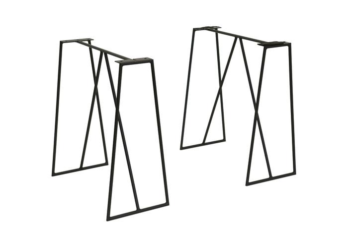 アイアン・デザイン脚3ブラック