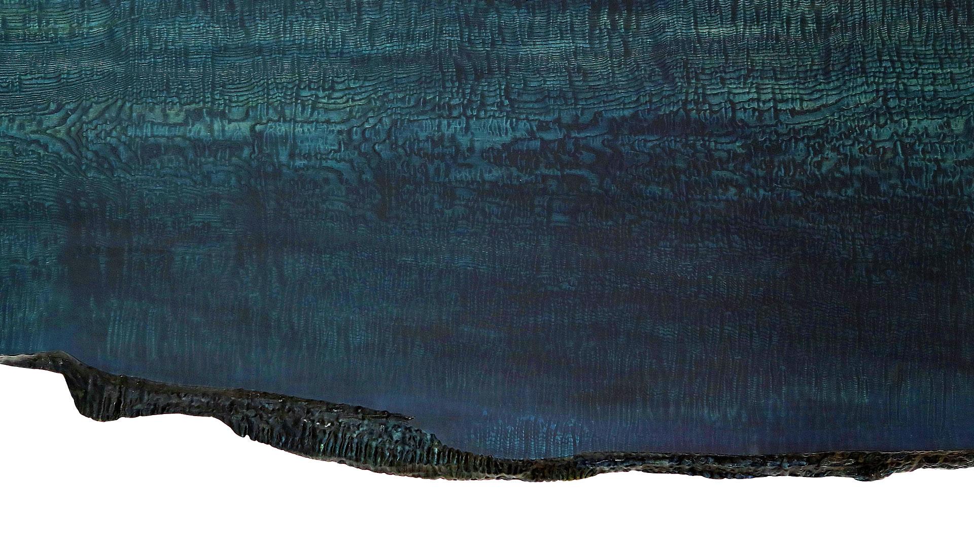 無垢一枚板(藍染め)