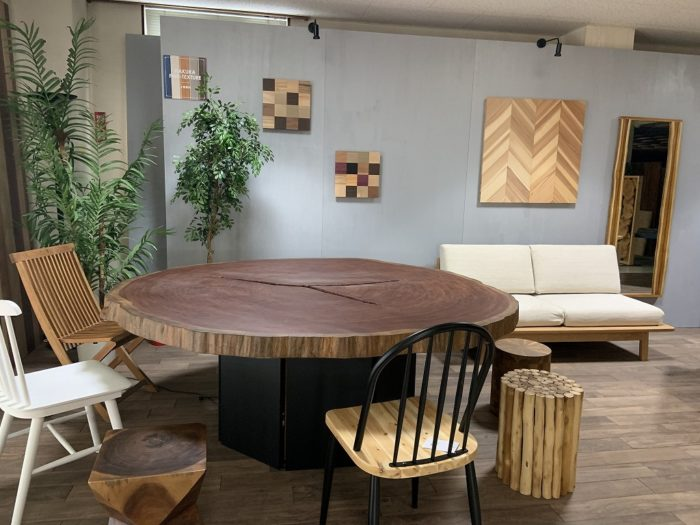 ブビンガ テーブル