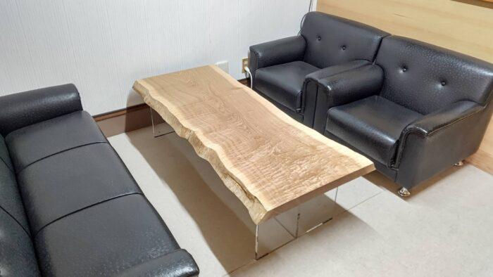 タモ 応接室テーブル
